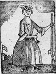 Print, Early 19th Century Woman