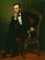 "Painting, ""Abraham Lincoln,"" George A. Healey"