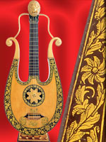 Lyre guitar, Clementi and Company, 1810