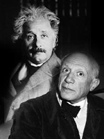 Photo, Einstein and Picasso, NOVA: Einstein's Big Idea