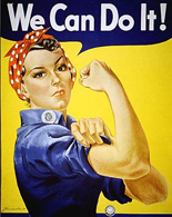 Poster, We Can Do It!, NARA