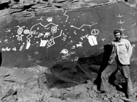 "Photo, ""Robert Brewster Stanton in Glen Canyon,"" c. 1893"