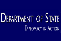 Logo, US Department of State