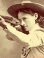 Photo, Annie Oakley