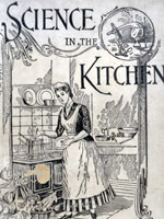 Cover image, Science in the Kitchen, 1893