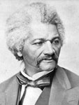 Photo, Frederick Douglass, head-and-shoulders portrait, facing right, LoC