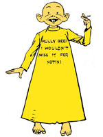 cartoon of the Yellow Kid