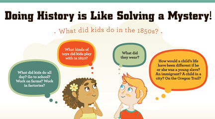 Historical Thinking Poster Elementary